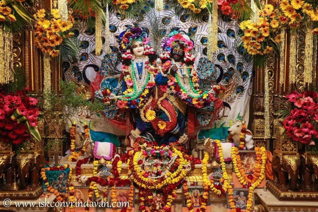 ISKCON Vrindavan Sringar Deity Darshan 25 Jan 2016 (13)