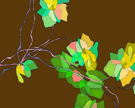 """The """"Green Vines"""" piece from the """"2005"""" collection"""