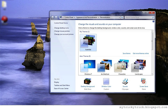 windows 7 theme, windows 7 hidden themes, windows 7 themes