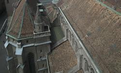 Vistas desde la catedral de St. Pierre