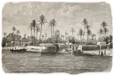 Margens do Rio Tigre, em Bagdade