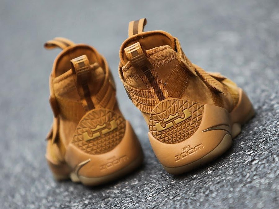 301c408d0e8 ... A Detailed Look at Nike LeBon Soldier 11 Wheat ...