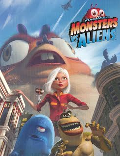 Monstruos contra Alienígenas - Monsters vs. Aliens (2009)