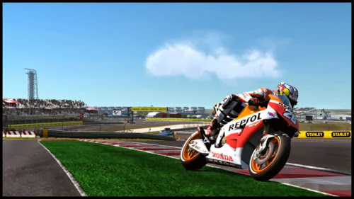 Screen Shot Of Moto GP 13 (2013) Full PC Game Free Download at Alldownloads4u.Com