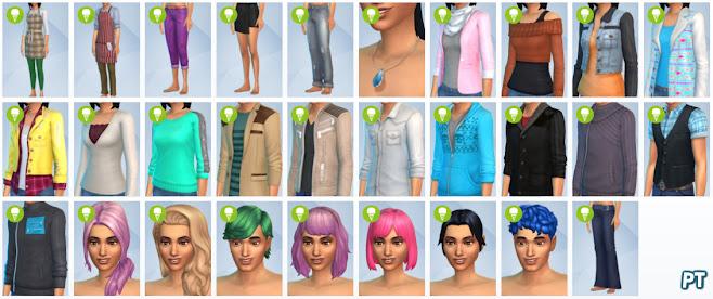 De Sims 4 Coole Keukenaccessoires nieuwe CAS-items