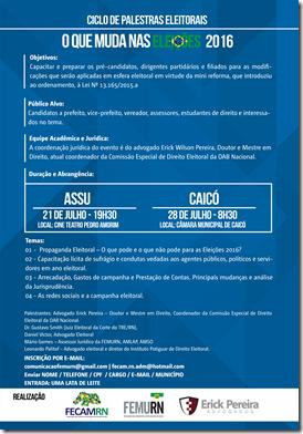 FEMURN promove ciclo de palestras eleitorais em Assú e Caicó (2)