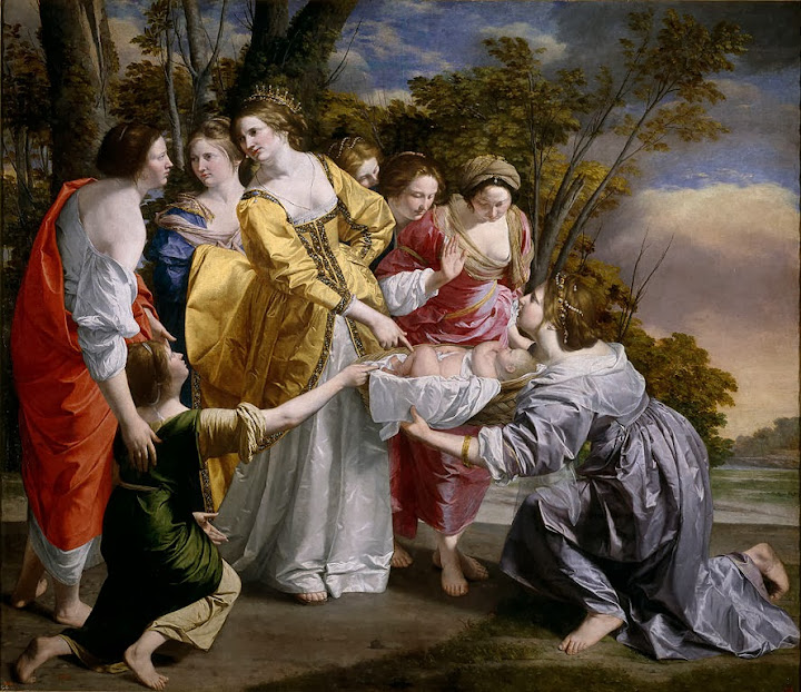 Orazio Gentileschi - Moses saved from the waters