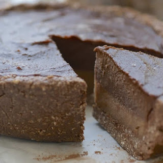 Chocolate Caramel Layer Pie