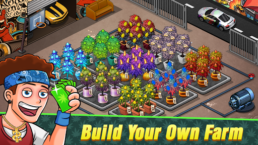 Bud Farm Idle - Hempire Farm Growing Tycoon