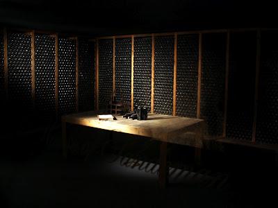 Cellars at Sandman winery in Portugal