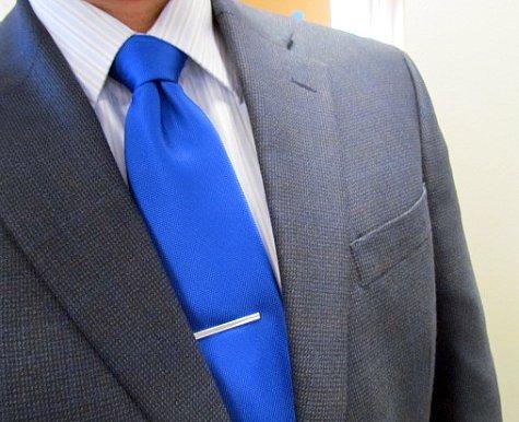 Bright Blue Tie by Doug Hagler