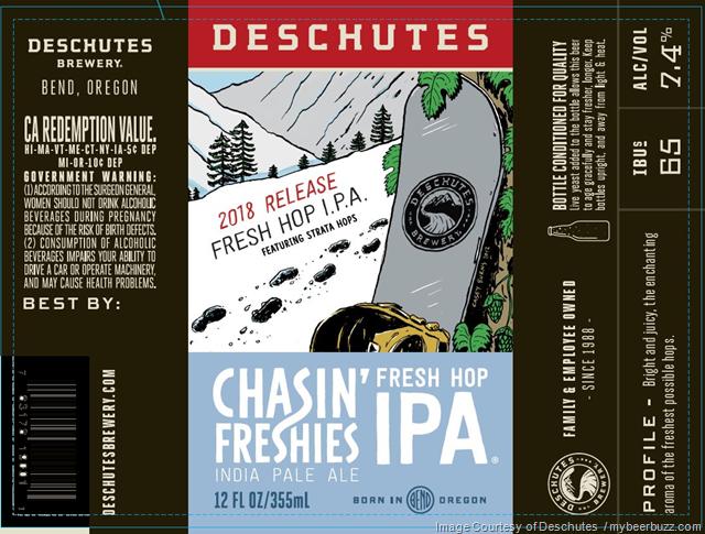 Deschutes Chasin' Freshies 2018 Release