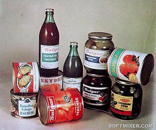 Импортные продукты в СССР