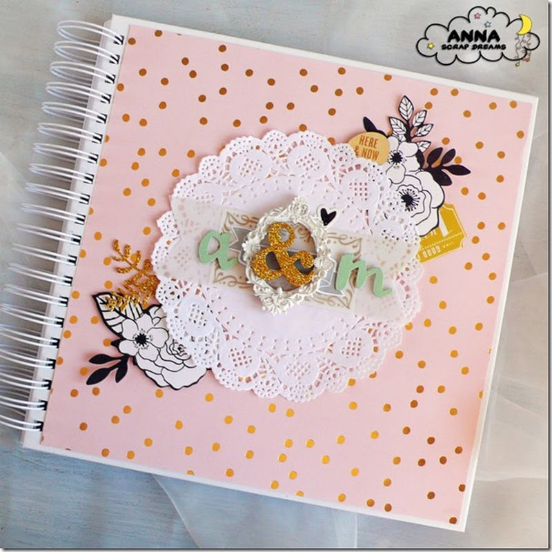 Cafe Creativo: Libro degli ospiti per matrimonio - Wedding Guestbook - Scrap Dreams