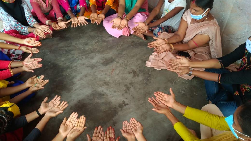 बिहार:ग्लोबल हैण्ड वाशिंग डे पर 'सहयोगी' ने बढ़ाया सफ़ाई का हाथ, लोगों को किया जागरूक