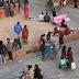 Straatventers op Kathmandu Durbar Square