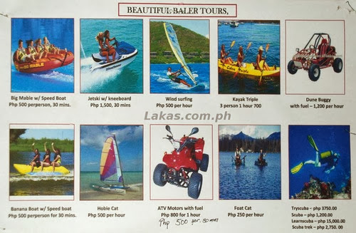 Adventure Activities in Baler