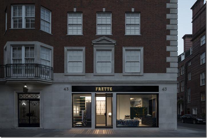 FRETTE London Store - esterno