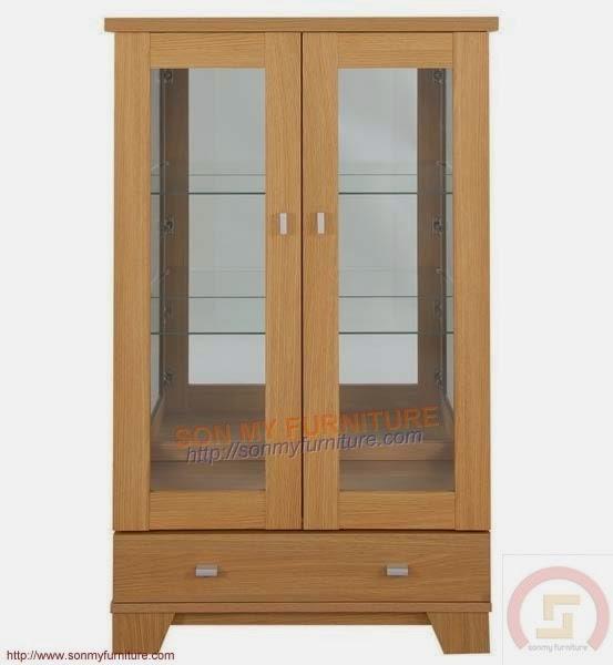 Tủ trưng bày gỗ 09