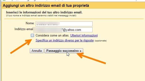 mittente-yahoo-gmail
