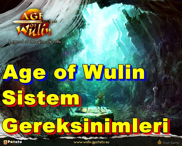 Age of Wulin PC Sistem Gereksinimleri