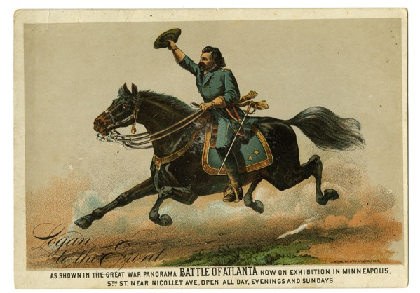 Logan on Horseback Promotional Flyer