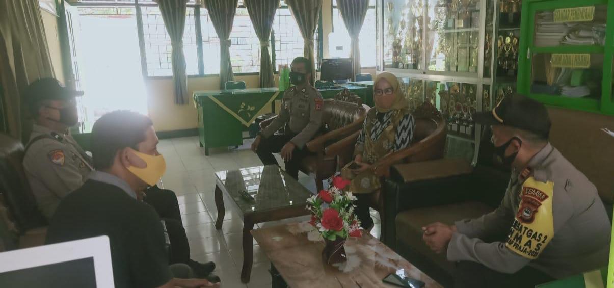 Sat Binmas Polres Soppeng Kunjungi MAN 1 Soppeng