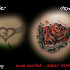 heart rose - tattoo meanings