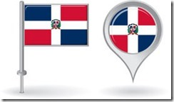 dominican-republic-pin-icon-map-pointer-flag-vector-illustration-53954213