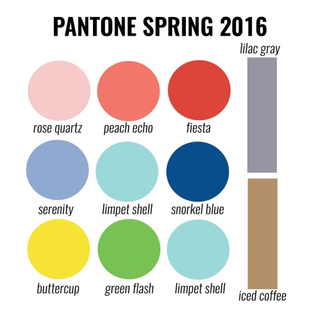 FashionDRA | Fashion : Wear the color trend 2016