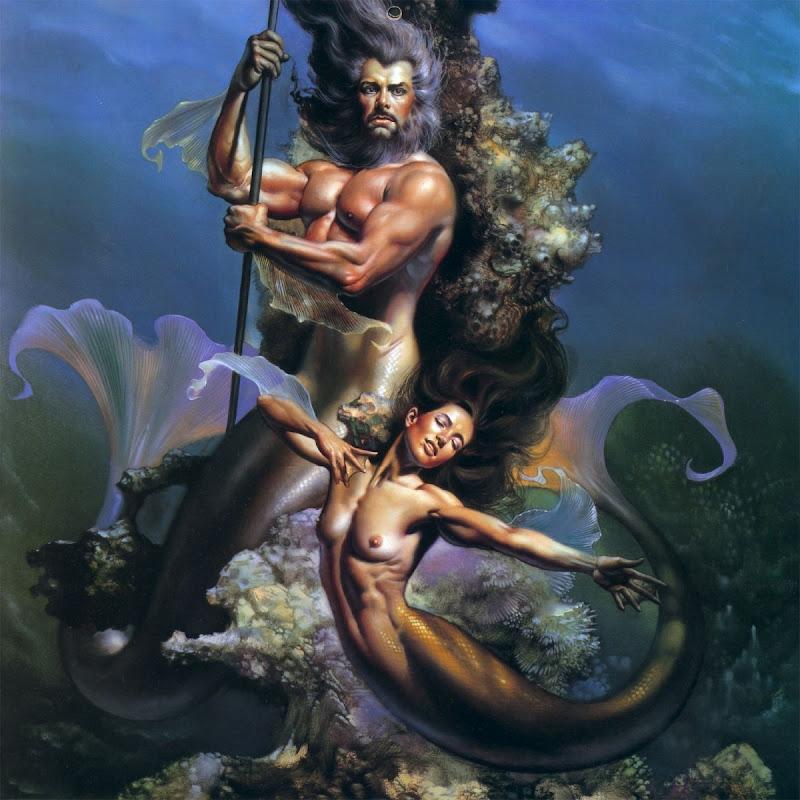 Mermaid Couple, Mermaids