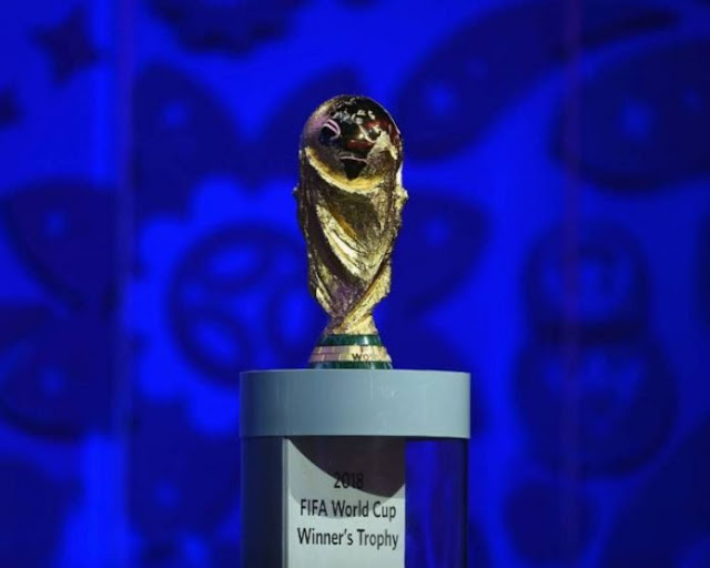 FIFA World Cup Trophy Arrives Nigeria March 3
