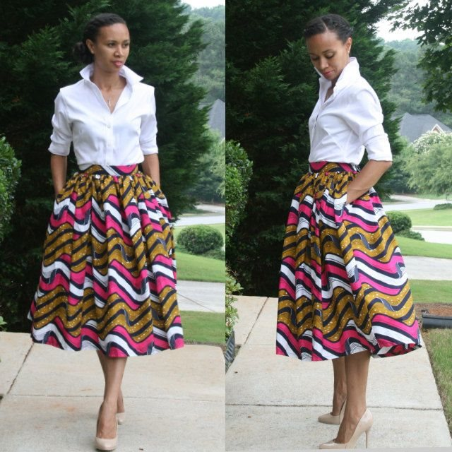 Latest Fashion 2015 2016 African Trendy Dresses Styles 7