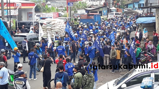 Mayday 2019 Sukabumi, Tercacat 6 Ribu Karyawan Sukabumi Kena PHK