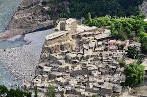 Altit fort, Hunza valley.