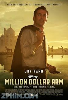 Tay Ném Triệu Đô - Million Dollar Arm (2014) Poster