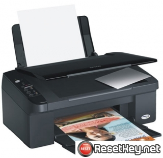 Reset Epson TX129 printer Waste Ink Pads Counter