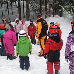 Zimní tábor 2012 - Pondělí