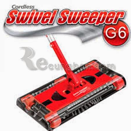Chổi hút bụi đa năng không dây Swivel Sweeper