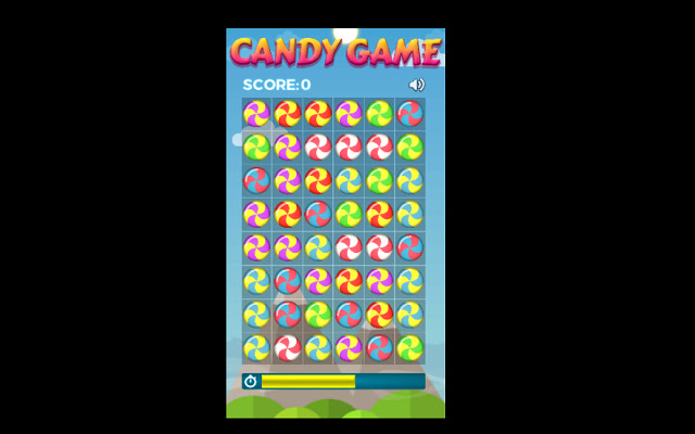 Candy Game for Chrome