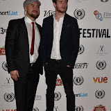 OIC - ENTSIMAGES.COM - Nathanael Wiseman and Oliver Stark at the  My Hero Film Premiere at Raindance Film Festival London 25th September 2015 Photo Mobis Photos/OIC 0203 174 1069
