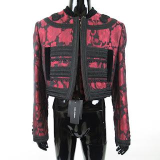 Dolce & Gabbana NEW Red Bolero & Waistcoat Sz 48