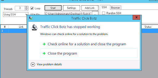 Solved - Hướng dẫn tạo server để kết nối Tool Traffic Click