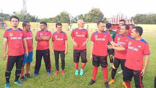 Tim Sepakbola Pemprov Sumbar Menang Telak 3 - 1 Dari Pemko Payakumbuh.