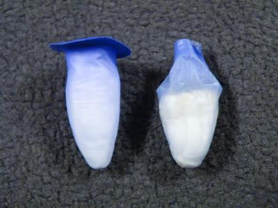 新しいBilson SOFT(左)、交換時期のBilson SOFT(右)