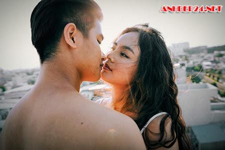 Bộ ảnh cưới sexy gây tranh cãi của cặp 9X Cần Thơ
