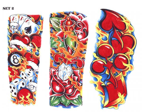 Silent Tattoo Design 14, Fantasy Tattoo Designs