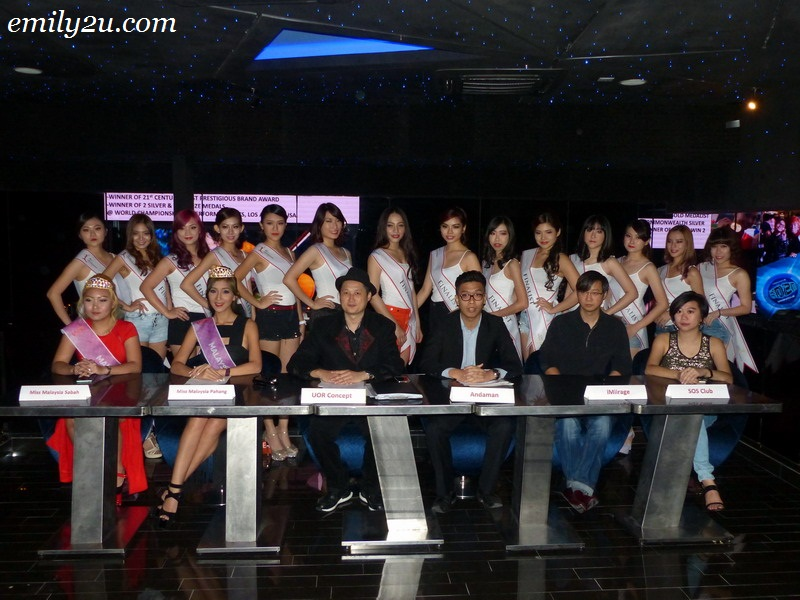 Miss Andaman World press conference