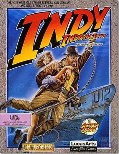Indiana Jones action game atlantis