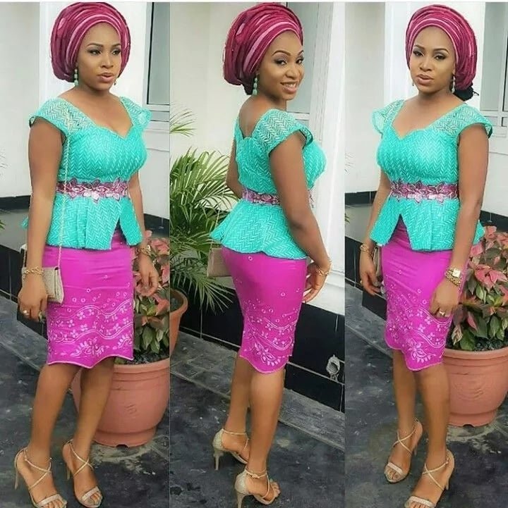 Latest Aso Ebi Styles Dresses For African Woman 5